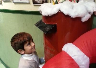 Sending Santa's letters 2013