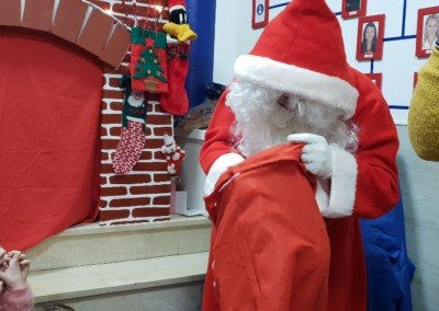 Visita Santa Claus 2018 – Alumnos lunes y miércoles