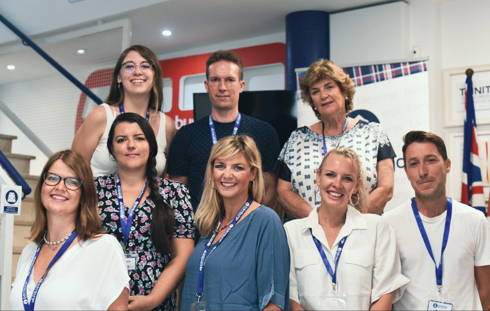 Coordinadores Centro Edimburgo Idiomas Huelva